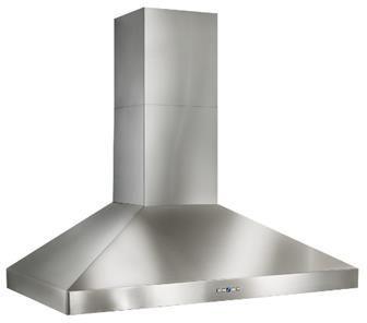 "Best 48"" Colonne Wall Ventlation-Stainless Steel-WPP9IQT48SB"