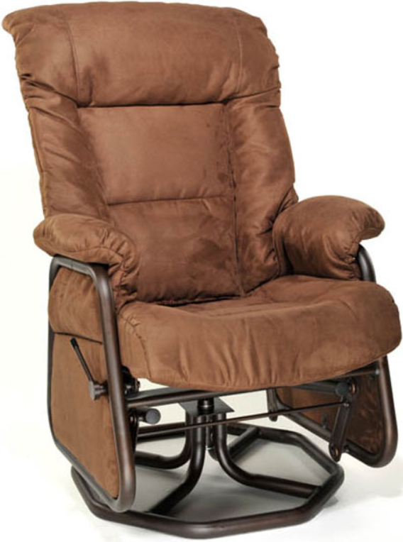 Fauteuil inclinable PEL en tissu brun PEL International®-110917