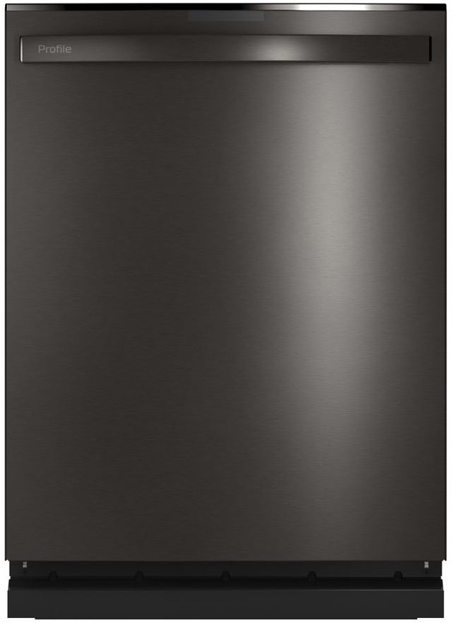 "GE Profile™ 24"" Black Stainless Built In Dishwasher-PDT715SBNTS"