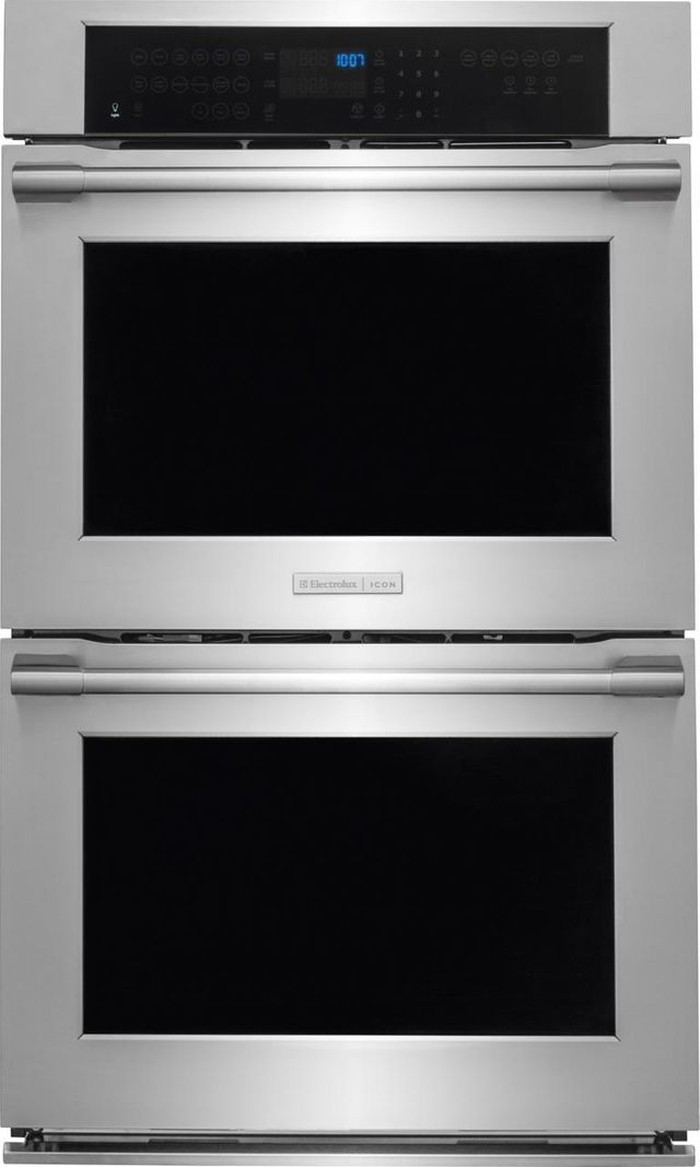 Electrolux ICON® Professional Series 30'' Electric Double Wall Oven-Stainless Steel-E30EW85PPS