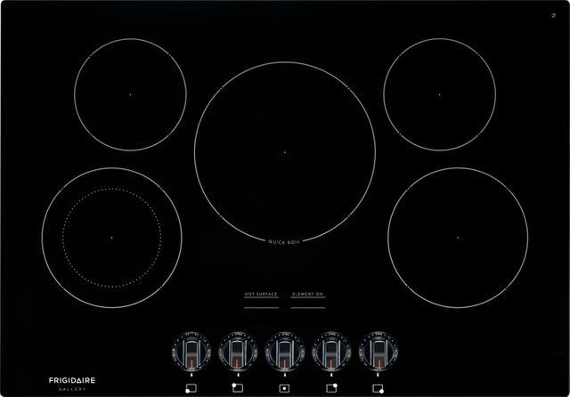 "Frigidaire Gallery® 30"" Black Electric Cooktop-FGEC3068UB"