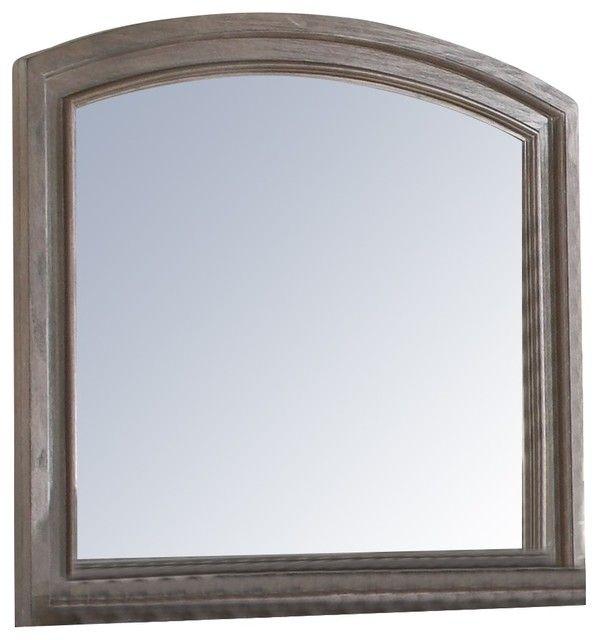 New Classic® Allegra Pewter Dresser Mirror-B2159-060