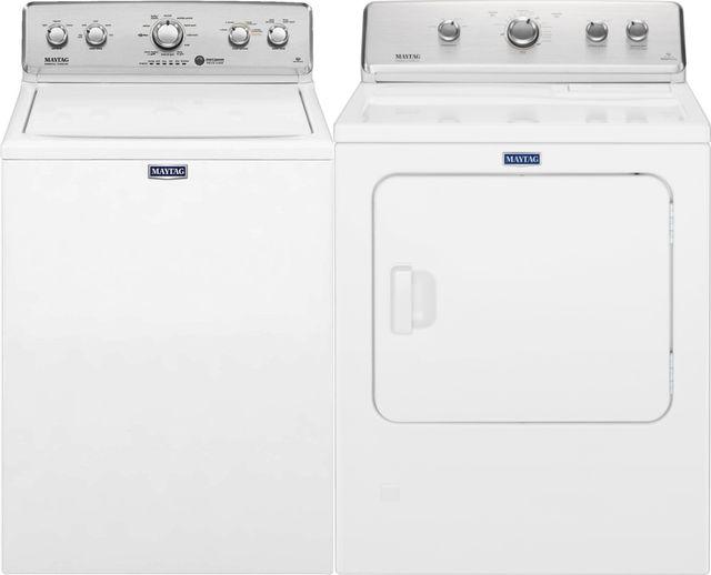 Maytag® White Laundry Pair-MALAUMGDC465HW2
