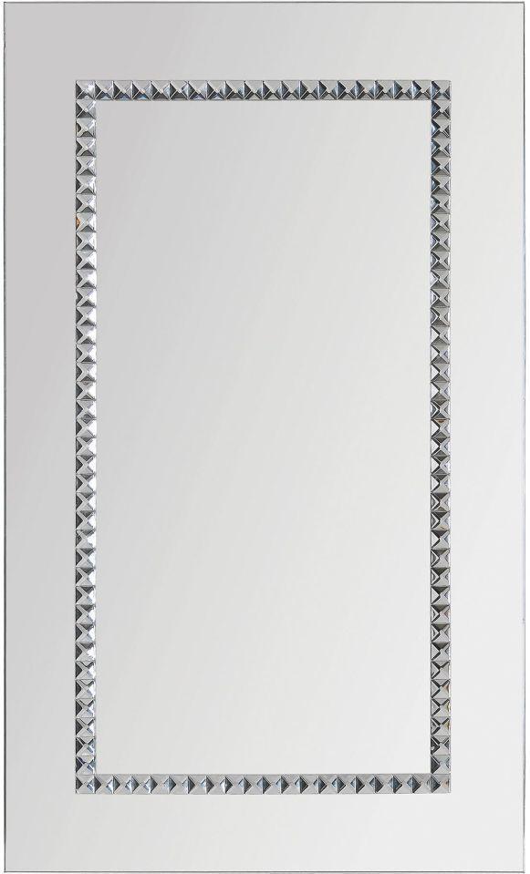 Miroir Argenté Embedded Jewels Renwil®-MT1216
