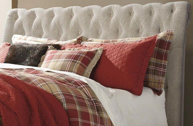 Signature Design by Ashley® Willenburg Linen Queen Upholstered Headboard-B643-77