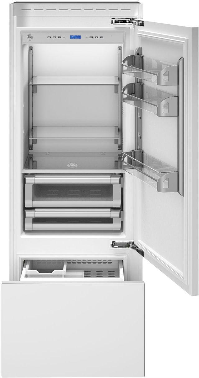 Bertazzoni Professional Series 14 Cu. Ft. Panel Ready Built In Refrigerator-REF30PRR