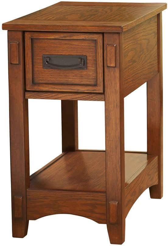 Signature Design by Ashley® Breegin Brown Chair Side End Table-T007-319