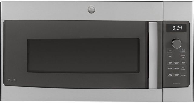 GE® 1.7 Cu. Ft. Stainless Steel Over The Range Microwave -PSA9240SPSS