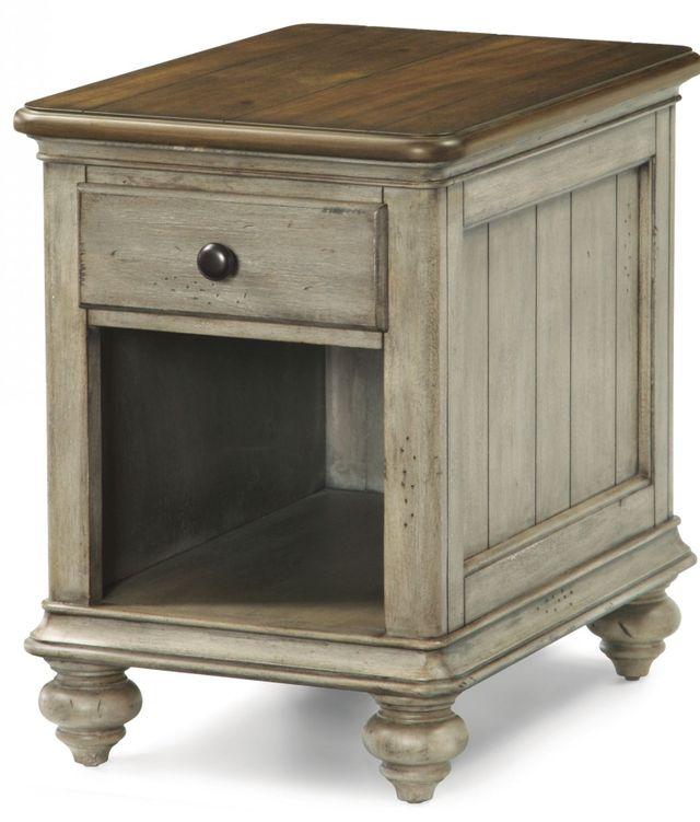 Flexsteel® Plymouth Wynwood Chairside Table-W1447-07