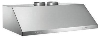 """Bertazzoni Professional Series 36"""" Pro Style Vent Hood-Stainless Steel-KU36PRO2X"""