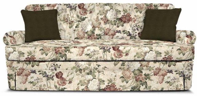 England Furniture Co. Fernwood Maxima Plum-Double Olive Sofa-1155-2729+8438