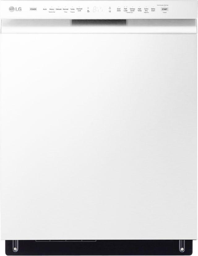 "LG 24"" White Built In Dishwasher-LDFN4542W"