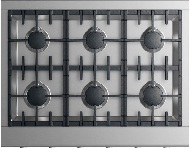 """Fisher Paykel Professional 36"""" Gas Rangetop-Stainless Steel-CPV2-366L N"""
