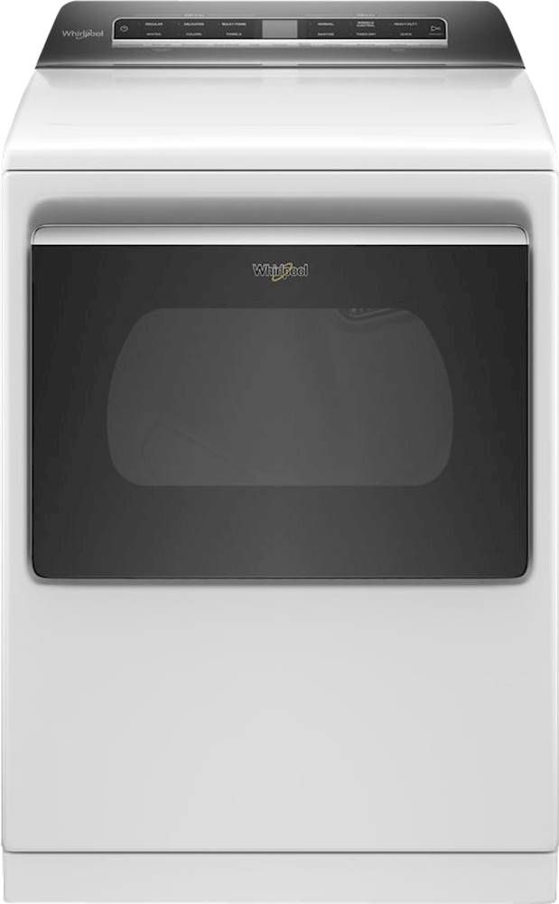 Whirlpool® 7.4 Cu. Ft. White Front Load Electric Dryer-WED7120HW