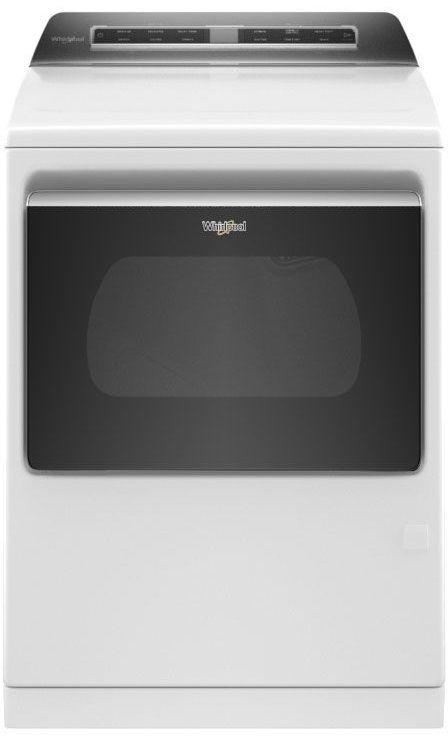 Whirlpool® 7.4 Cu. Ft. White Front Load Gas Dryer-WGD7120HW