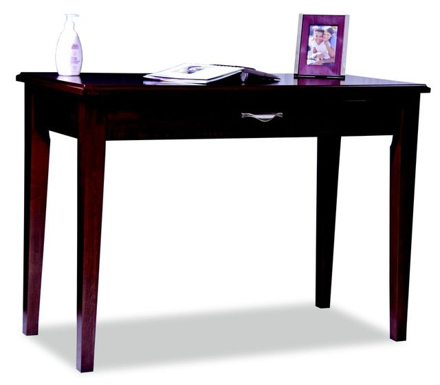 """Durham Furniture Solid Accents Candlelight Cherry 42"""" Contemporary Writing Desk-900-210A"""