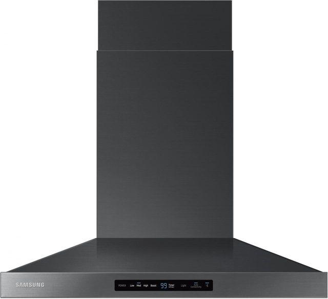 """Samsung 30"""" Wall Hood-Fingerprint Resistant Black Stainless Steel-NK30K7000WG"""
