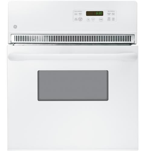 """GE® 24"""" Electric Single Oven Built In-White-JRP20WJWW"""