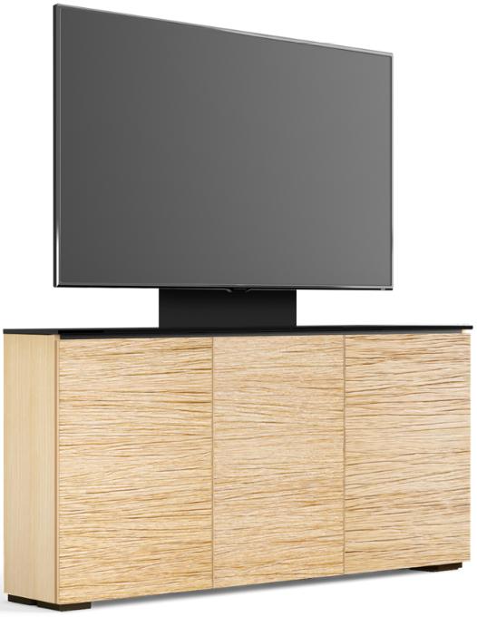 Salamander Designs® Chameleon Denver Natual Oak Low Profile 337M With TV Mount AV Cabinet-C1/DV337M/NO