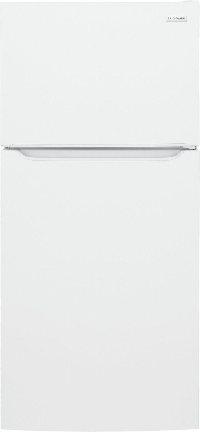 Frigidaire® 18.3 Cu. Ft. White Top Freezer Refrigerator-FFTR1835VW