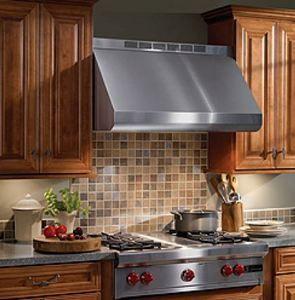 "Broan Elite E60000 Series 48"" Wall Ventilation-Stainless Steel-E6048TSS"