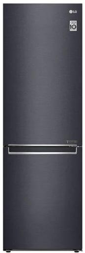 Réfrigérateur à congélateur inférieur à profondeur de comptoir de 24 po LG® de 11,9 pi³ - Noir mat-LBNC12241P