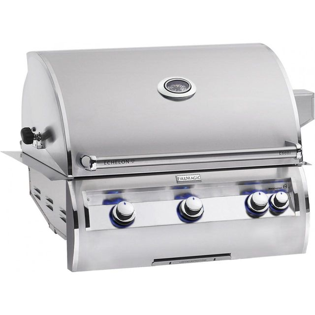 Fire Magic® Echelon Diamond Collection A Series Built In Grill-Stainless Steel-E660i-4EAP