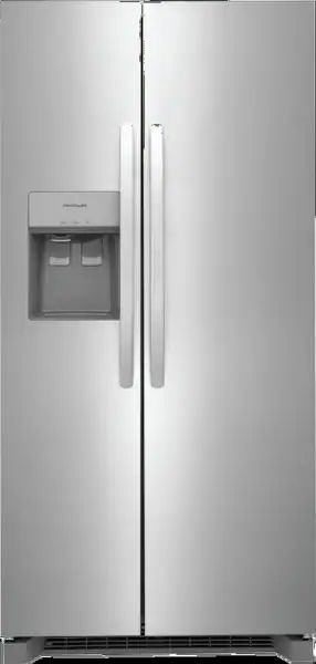 Frigidaire® 22.3 Cu. Ft. Stainless Steel Side by Side Refrigerator-FRSS2333AS
