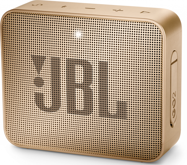 JBL® GO 2 Portable Bluetooth Speaker-Pearl-JBLGO2CHAMPAGNE