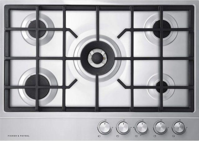 Table de cuisson au gaz Fisher Paykel® de 30 po - Acier inoxydable-CG305DNGX1 N