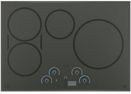 """Café™ 30"""" Induction Cooktop-Flagstone Gray-CHP9530SJSS"""