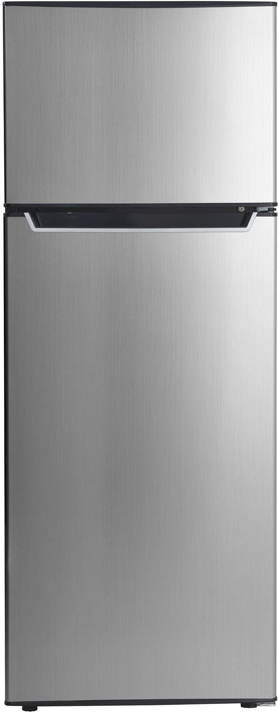 Danby® 7.3 Cu. Ft. Black/Stainless Steel Top Freezer Refrigerator-DPF073C2BSLDB