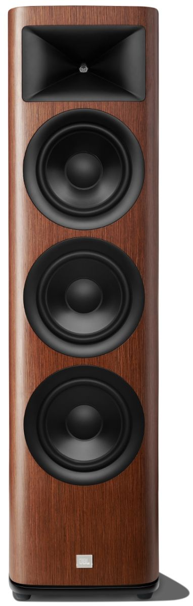 "JBL Synthesis® HDI-3800 Walnut Triple 8"" 2 ½-way Floorstanding Loudspeaker-JBLHDI3800WALAM"