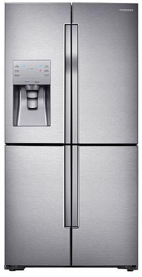 Samsung 23 Cu. Ft. Counter Depth 4-Door Flex™ Refrigerator-Fingerprint Resistant Stainless Steel-RF23J9011SR