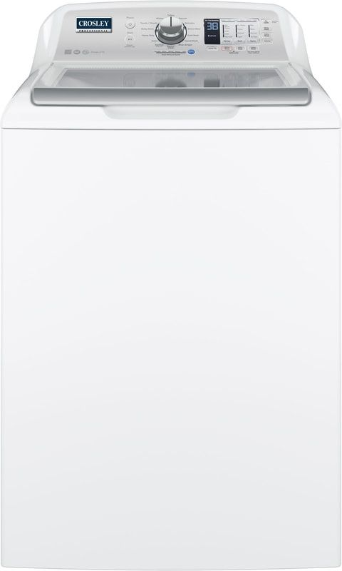 Crosley Professional® 4.5 Cu. Ft. White Top Load Washer-YTW4514SNWS