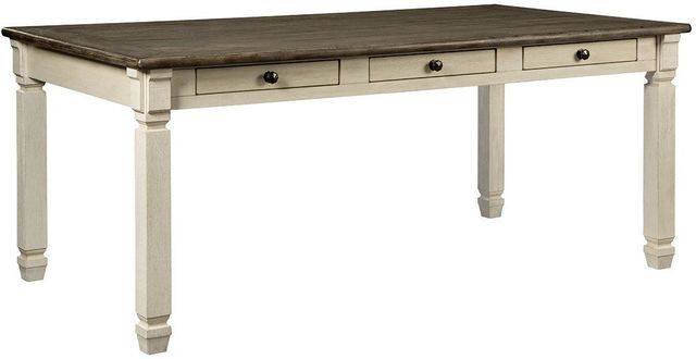 Signature Design by Ashley® Bolanburg Rectangular Two-Tone Dining Room Table-D647-25