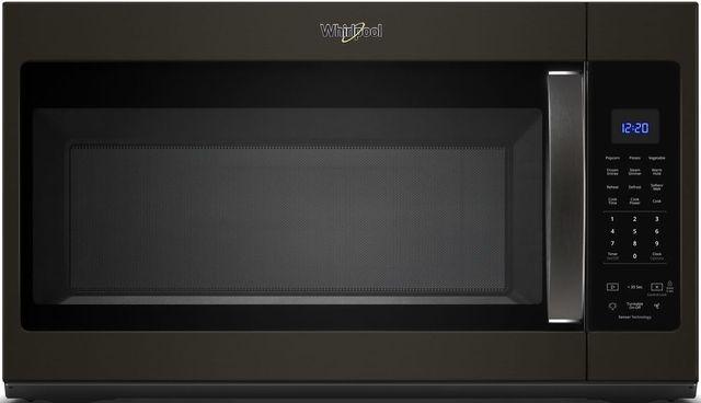 Whirlpool® Over The Range Microwave-Fingerprint Resistant Black Stainless Steel-WMH32519HV