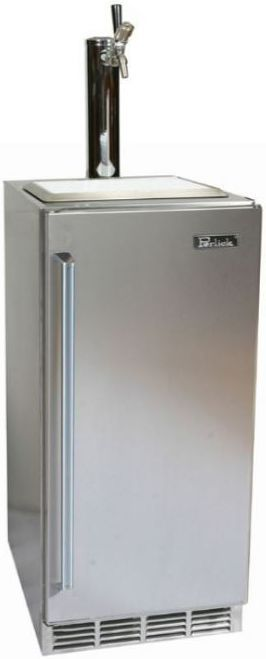 Perlick® Signature Series 2.8 Cu. Ft. Outdoor Beer Dispenser-Stainless Steel-HP15TO-3-1R