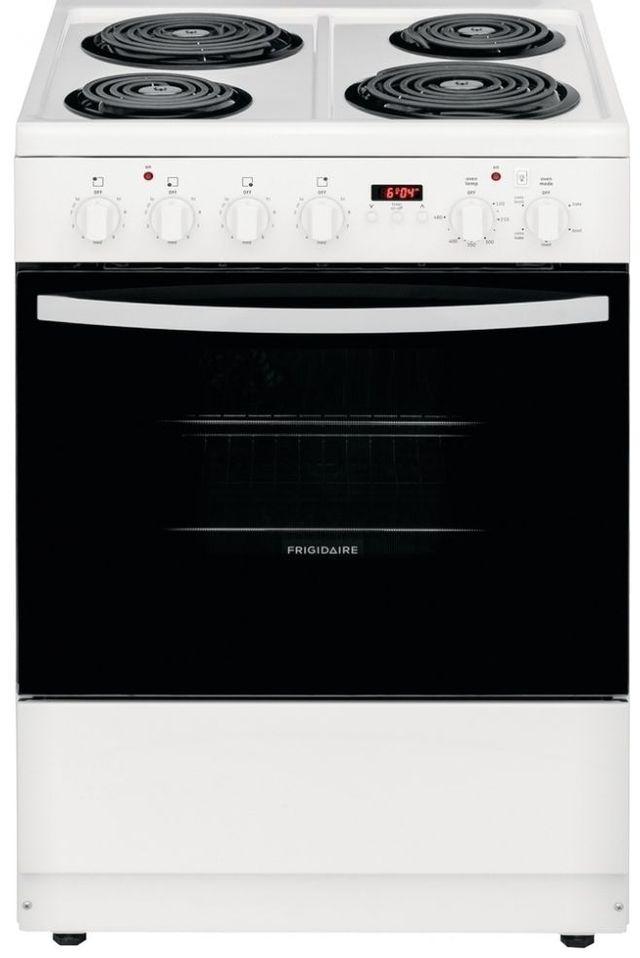 Cuisinière électrique encastrée Frigidaire® de 1,9 pi³ de 24 po - Blanc-CFEH2411UW