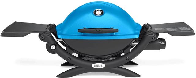 "Weber® Q® 1200™ 40.9"" Blue Gas Grill-51080001"