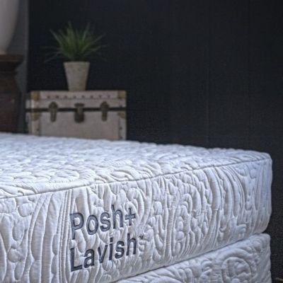 Posh+Lavish™ Premier Pocket Sprung Medium Firm Queen Mattress-MATPMR-50-010