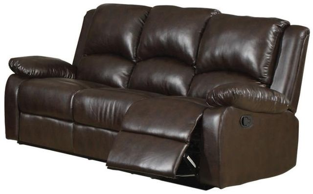 Coaster® Boston Dual-grain Brown Reclining Sofa-600971