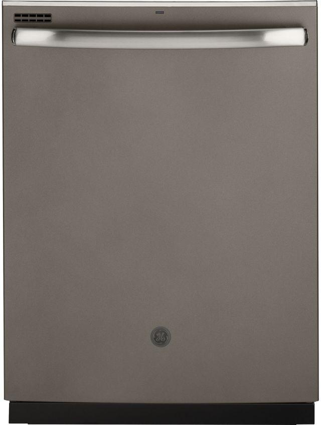 """GE® 24"""" Slate Built In Dishwasher-GDT630PMMES"""