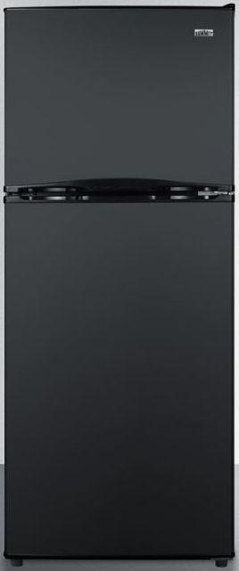 Summit® 9.9 Cu. Ft. Top Freezer Refrigerator-Black-FF1072BIM