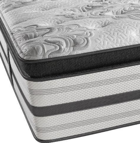 Beautyrest® Platinum™ Sugar & Spice Luxury Firm Hybrid Pillow Top Full Mattress-Sugar/Spice LF BX TP-F