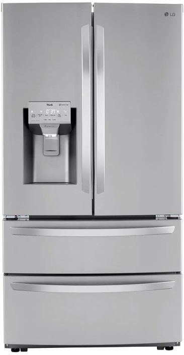 LG 27.8 Cu. Ft. Stainless Steel French Door Refrigerator -LRMXS2806S