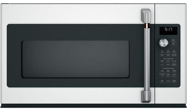 Café™ 1.7 Cu. Ft. Stainless Steel Over the Range Microwave-CVM517P2MS1