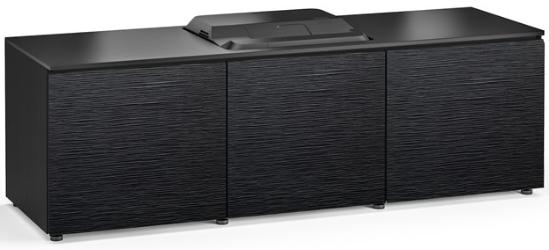 Salamander Designs® Chameleon Chicago Black Oak 237 Projector Integrated Cabinet-X/EPS237CH/BO