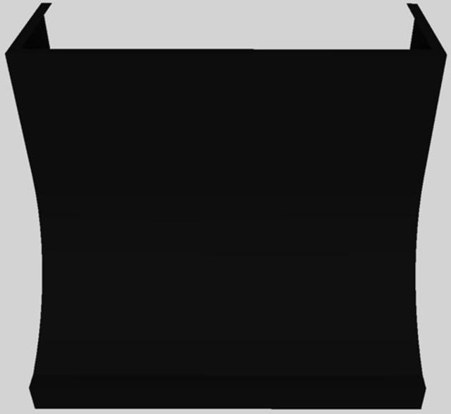 "Vent-A-Hood® 36"" Wall Mounted Range Hood-Black-DAH30-136 BL"