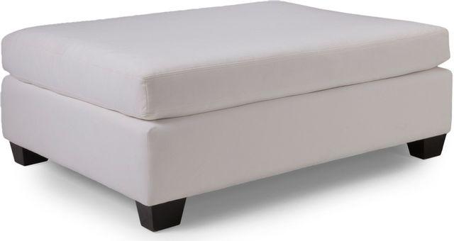 Decor-Rest® Furniture LTD 2875 Beige Ottoman-2875-OTTOMAN